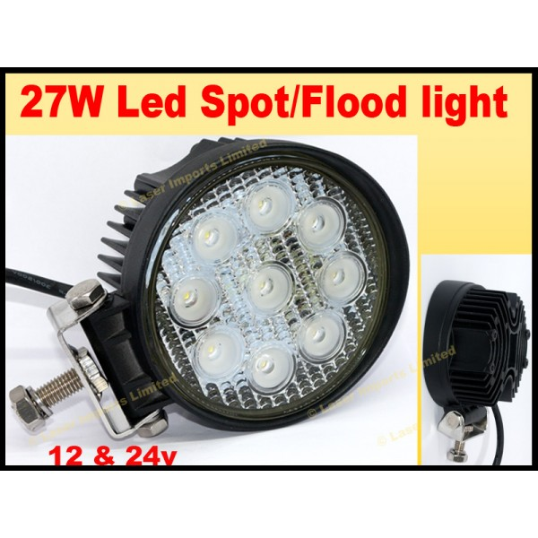 27W led spot-Flood light