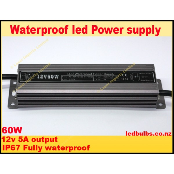 60W Led power supply - 12v