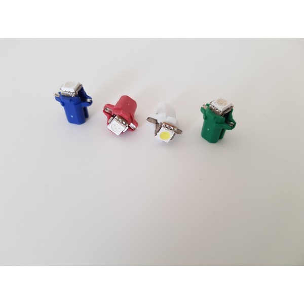 B8.3D led dash bulb