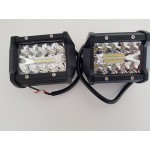 2x 60w LED light bars 9-30v
