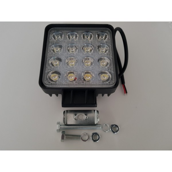 48W LED flood light, 12-24v waterproof