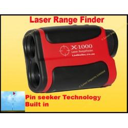 Laser range finder with pin seeker 700m