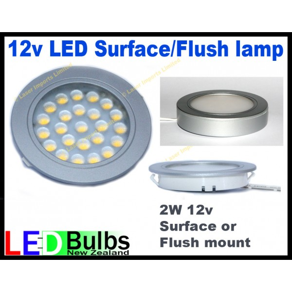 Led interior light surface or Flush mount - 2W LED