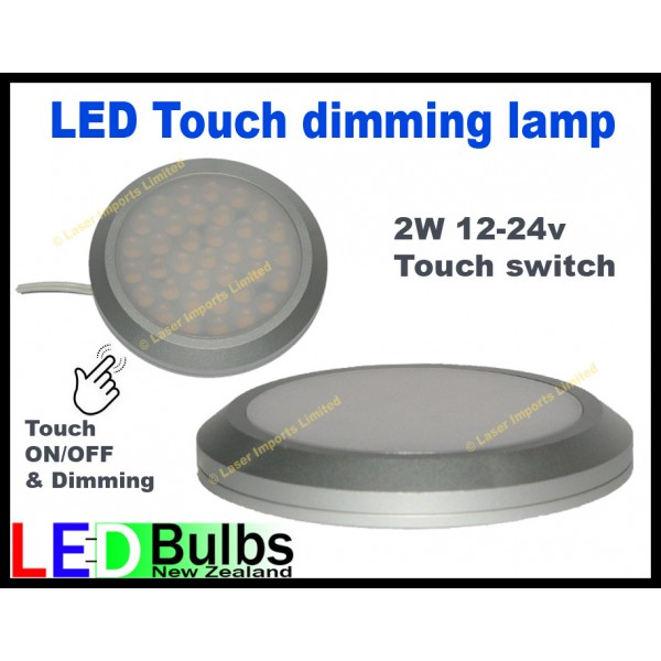 Led Touch Dimming light surface mount 2W 12-24v