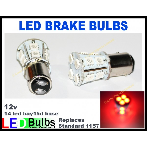 LED brake light bulbs --1157 or 7443 2pce