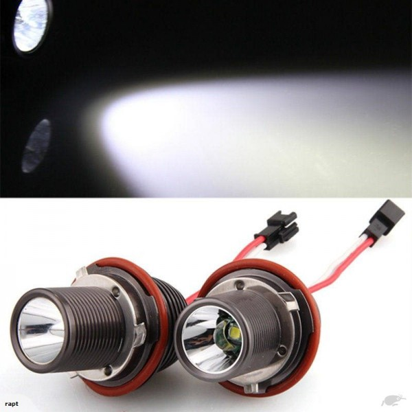 BMW 10W LED angel eye bulbs E39/E53/E60/E63/E64/E65/E66/E87