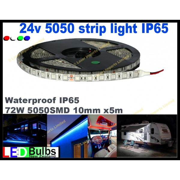 24v Led strip light 5050 Waterproof