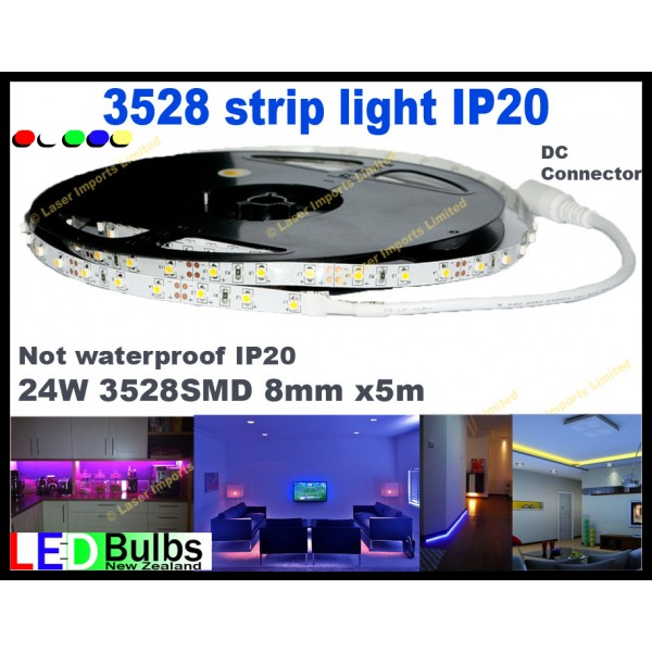 3528 Led strip light 5m +free connector