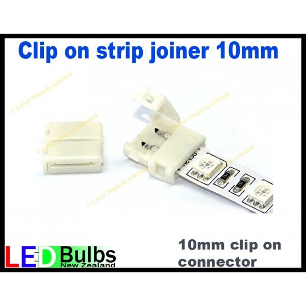 10mm strip to strip light connector