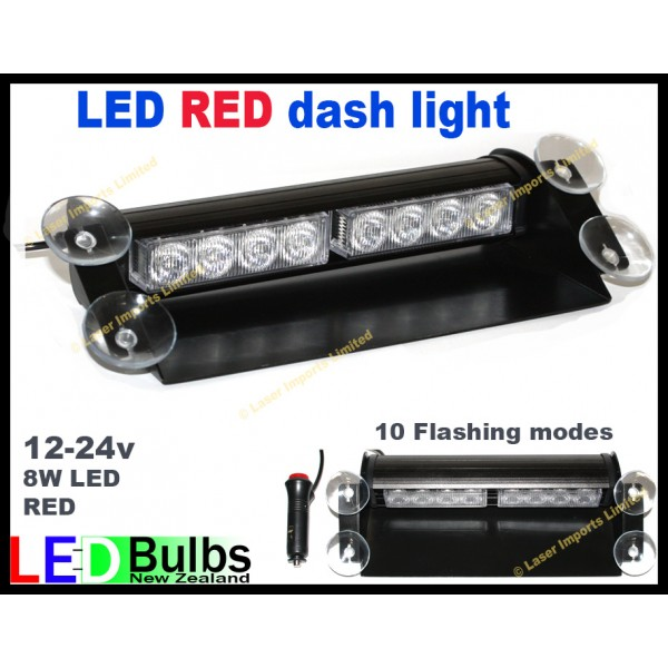led RED dash light strobe for Emergency service lighting