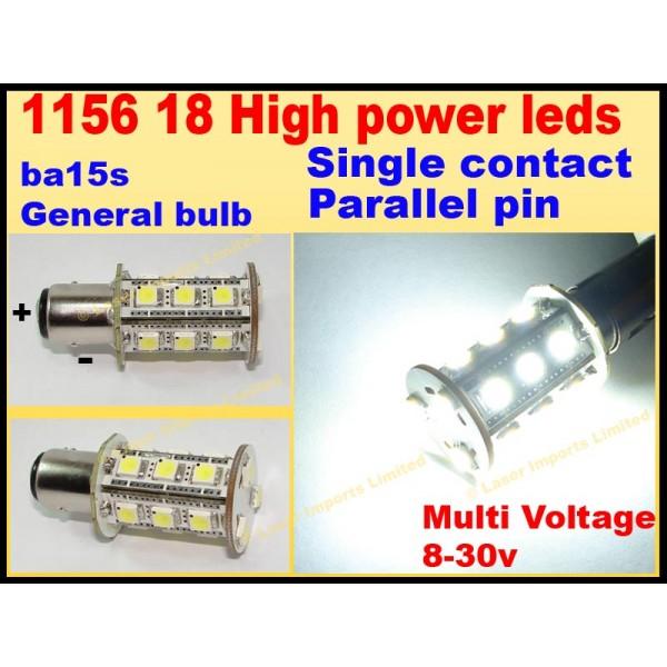 1156-18 SMD 8-30v led bulb