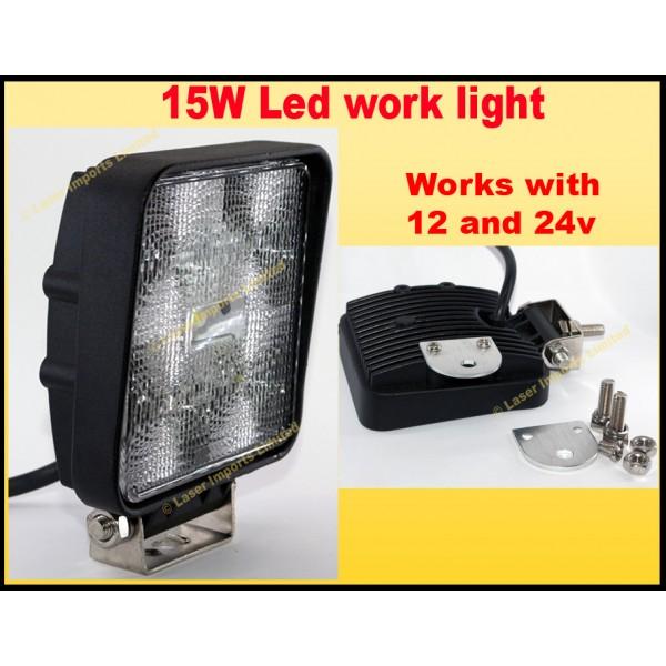 High power LED flood/deck light - 15W 12v-24v