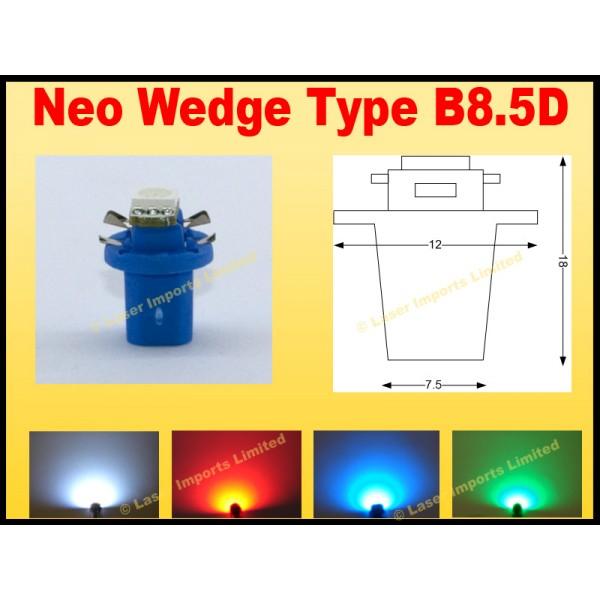 B8.5D led dash bulb