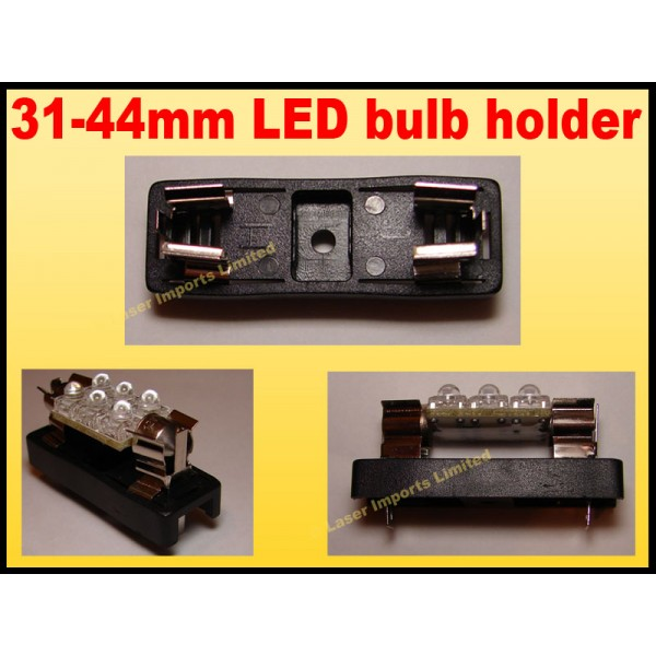 Festoon bulb Holder 31mm to 33mm
