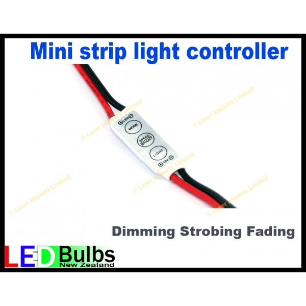 Mini strip light dimmer