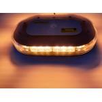 Flashing beacon strobe light bar – 30 LED magnetic 12-24V