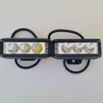 2pcs Aurora 35w LED side-shooter IP67 driving lights with OSRAM LED's