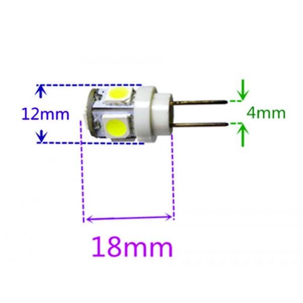 G4 5 LED bulb