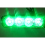 LED grille or external flashing light - amber, red or green