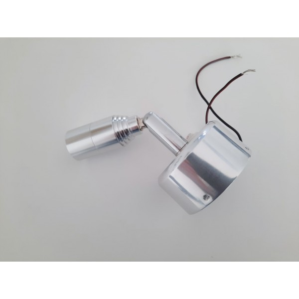 LED swivel head wall light with switch 12-24v