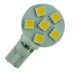 T10 6 LED bulb 8-30v
